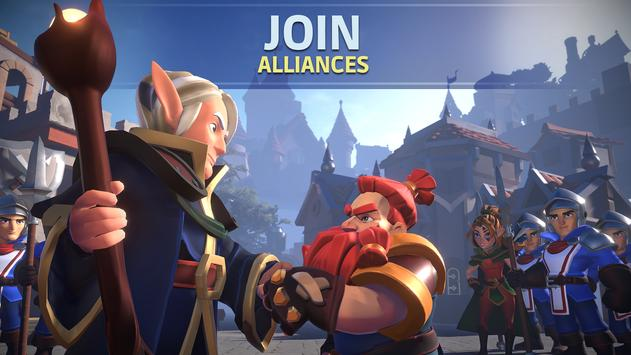 Empire: Age of Knights - Fantasy MMO Strategy Game syot layar 3