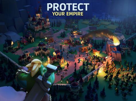 Empire: Age of Knights - Fantasy MMO Strategy Game syot layar 5