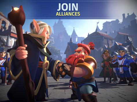 Empire: Age of Knights - Fantasy MMO Strategy Game syot layar 8