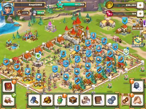 Empire: Age of Knights - Fantasy MMO Strategy Game syot layar 9