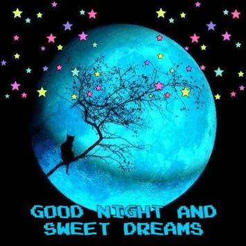 Good Night Gif & Sweet Dream Wishes Love screenshot 1