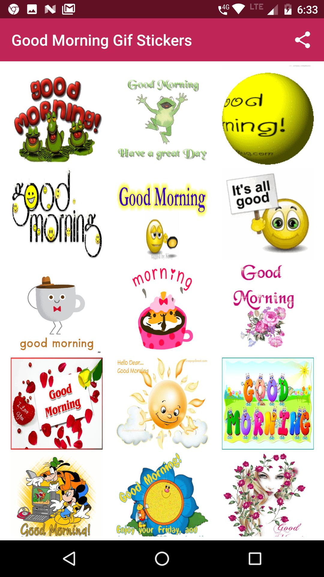 Morning Gif Stickers for Android - APK Download