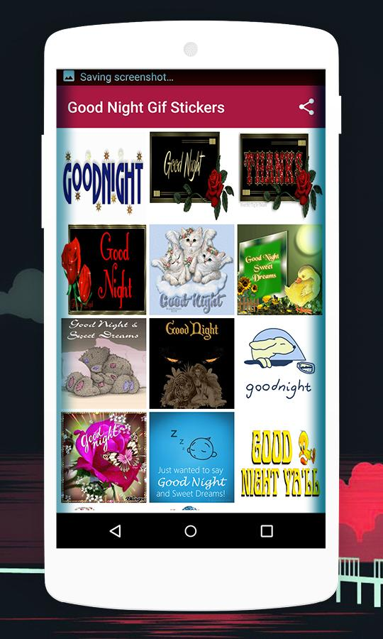 Good Night Gif Stickers for Android - APK Download