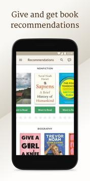 Goodreads تصوير الشاشة 3
