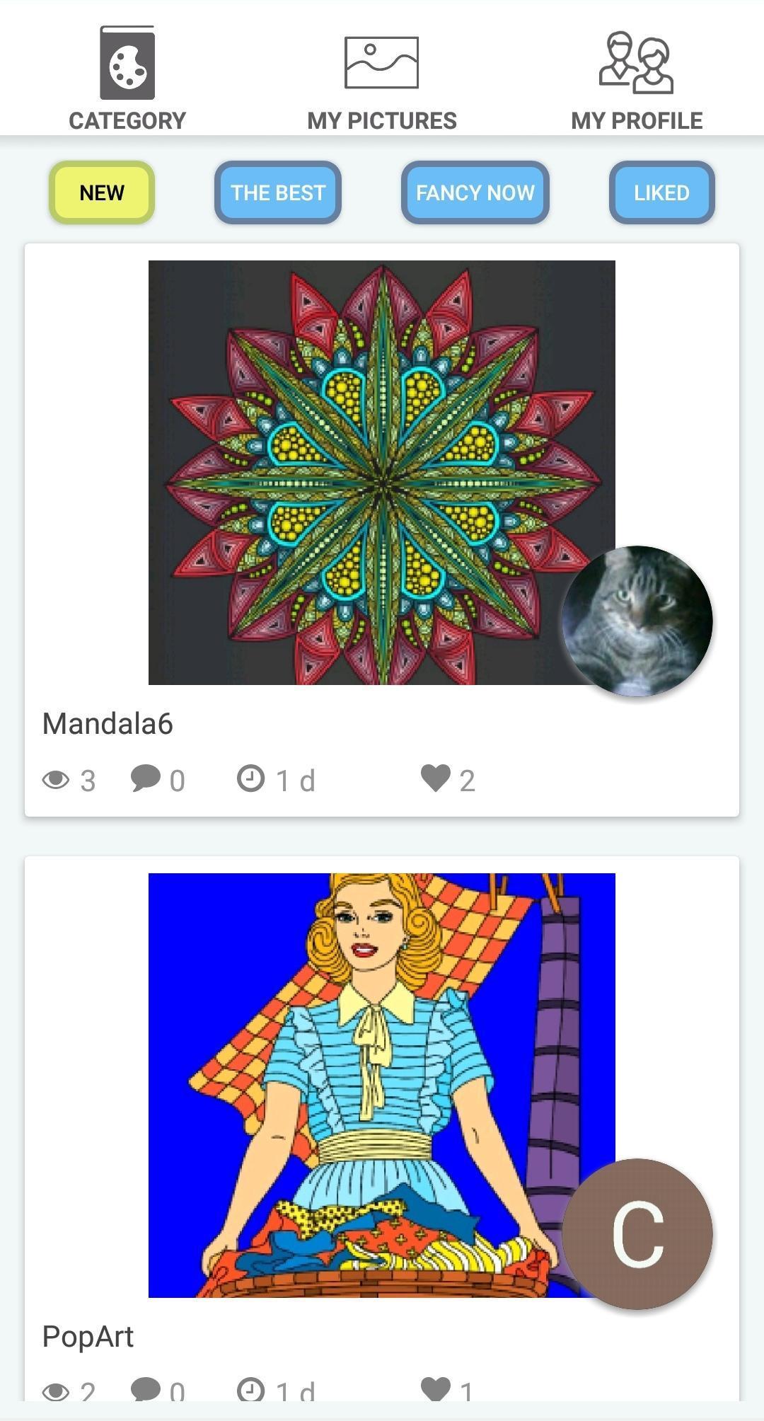Colorish Mandala Gratis Para Colorear Juegos For