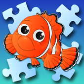 Bob - jigsaw puzzles free games for kids & parents icon