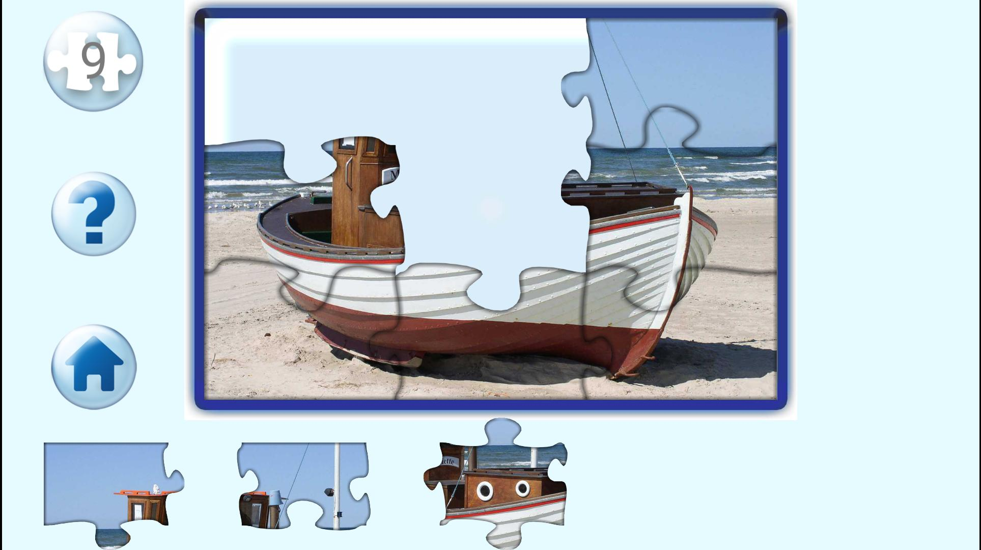 Bob - jigsaw puzzles free games for kids & parents for