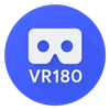 VR180 ikona
