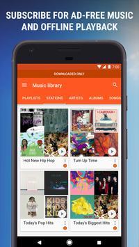 Google Playミュージック スクリーンショット 6