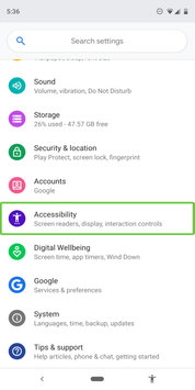 Android Accessibility Suite poster