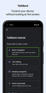 Suite Accesibilidad Android captura de pantalla 1