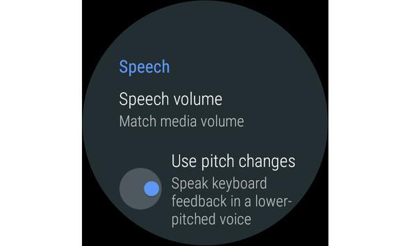 مجموعة أدوات الوصول من Android تصوير الشاشة 6