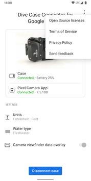 Penyambung Sarung Alat Selam untuk Kamera Google syot layar 4