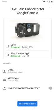 Penyambung Sarung Alat Selam untuk Kamera Google syot layar 2