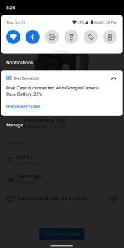 Penyambung Sarung Alat Selam untuk Kamera Google syot layar 3