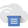 Cloud Print Zeichen
