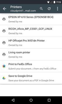 Cloud Print screenshot 3