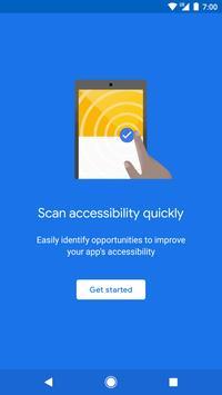 Test de Accesibilidad Poster