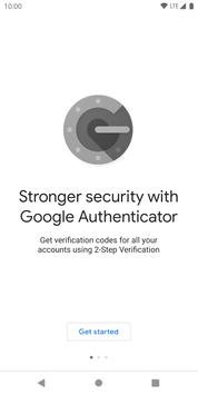 Google Authenticator पोस्टर