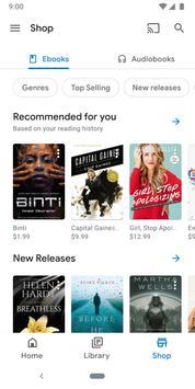Google Play Livres Affiche