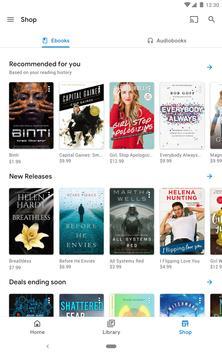 Google Play Livres capture d'écran 14