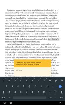 Google Play Books captura de pantalla 13