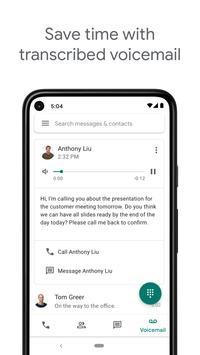 Google Voice syot layar 3