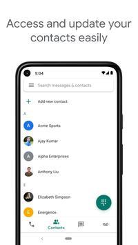 Google Voice syot layar 4