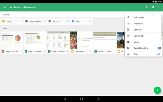 Google Drive captura de pantalla 12
