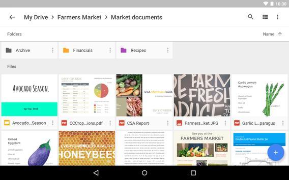 Google Drive تصوير الشاشة 13