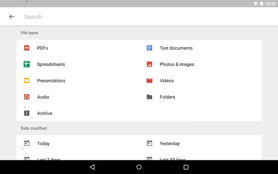 Google Drive imagem de tela 14