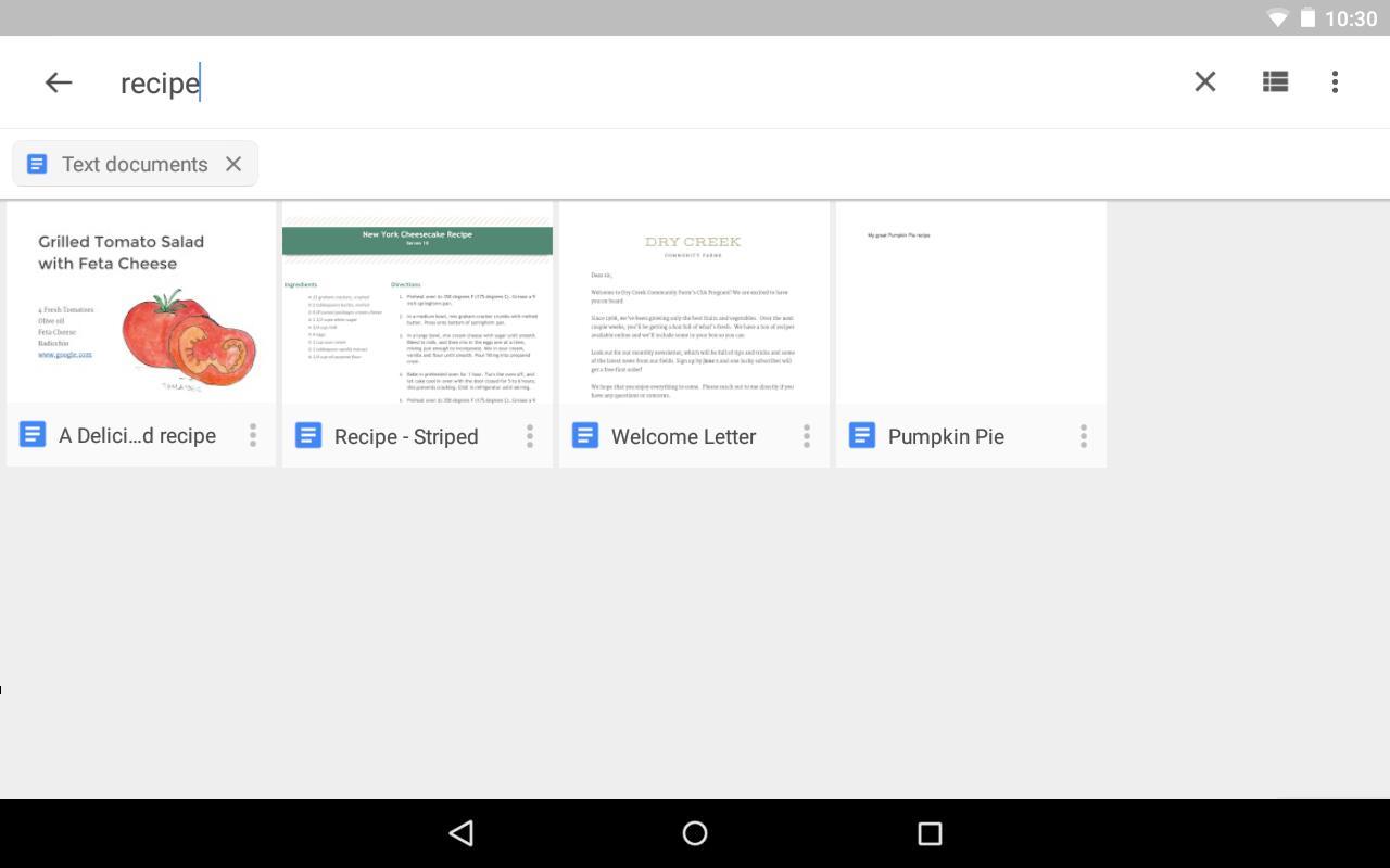 Google Drive poster