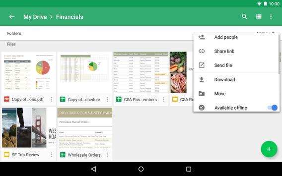 Google Drive تصوير الشاشة 18
