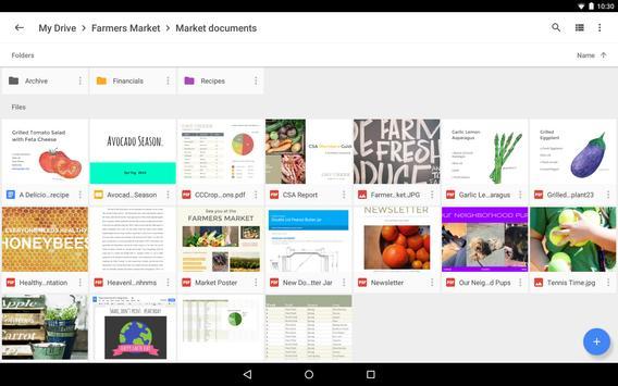 Google Drive تصوير الشاشة 7