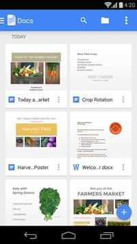 Google Docs poster