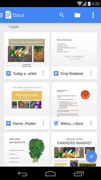 Google 文件 海報