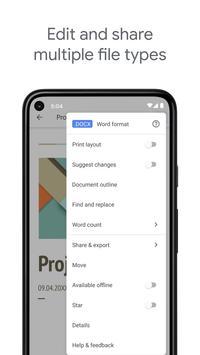 Google Tài liệu ảnh chụp màn hình 5