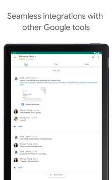 Google Chat screenshot 8