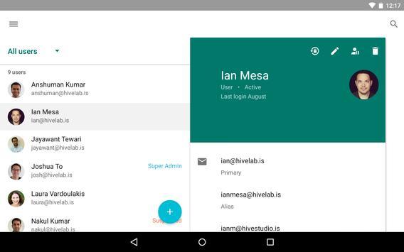 Google Admin screenshot 7