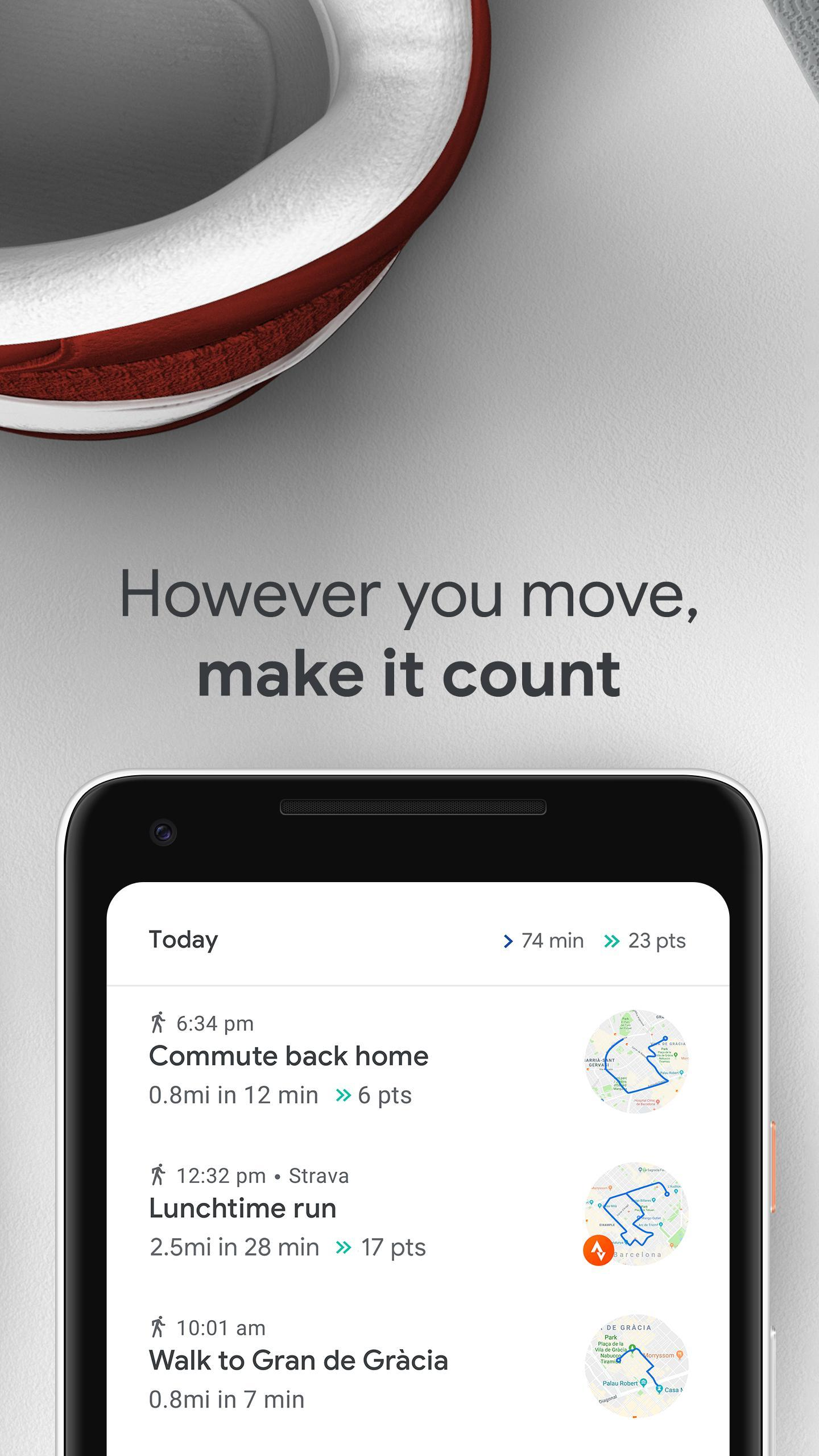 Google Fit: Health and Activity Tracking for Android - APK