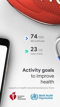 Google Fit: Theo dõi hoạt động và sức khỏe ảnh chụp màn hình 1