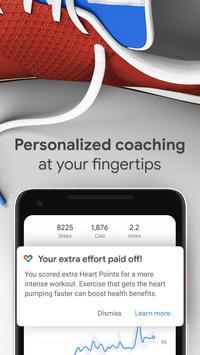 Google Fit: Theo dõi hoạt động và sức khỏe ảnh chụp màn hình 2