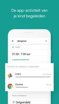 Google Family Link voor kinderen en tieners screenshot 1
