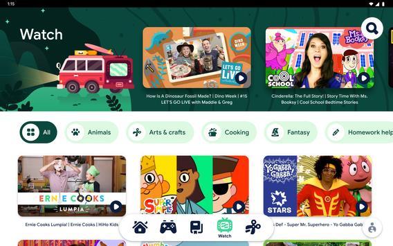 Google Kids Space syot layar 5