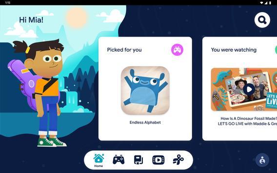 Google Kids Space syot layar 16