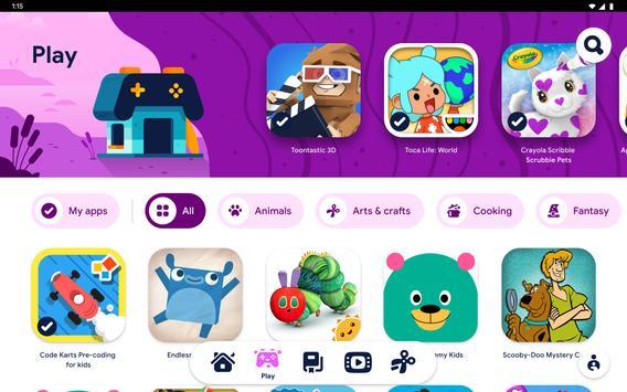 Google Kids Space syot layar 17