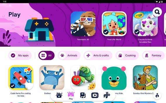 Google Kids Space syot layar 10