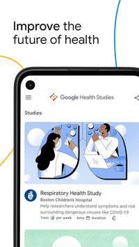Google Health Studies plakat
