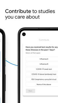 Google Health Studies screenshot 1