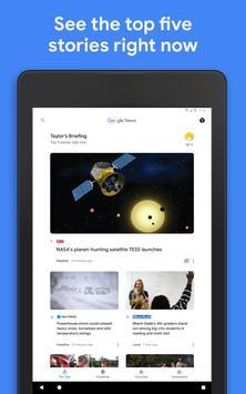 أخبار Google تصوير الشاشة 5